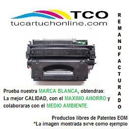 EP 707 BK  - TONER COMPATIBLE DE ALTA CALIDAD. REMANUFACTURADO EN E.U -Negro - Nº copias 2500